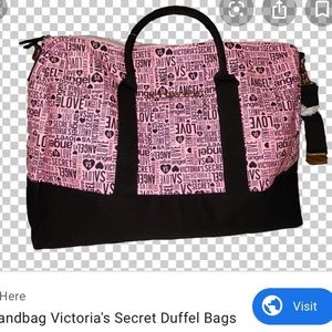 Victoria's Secret Duffle Bag